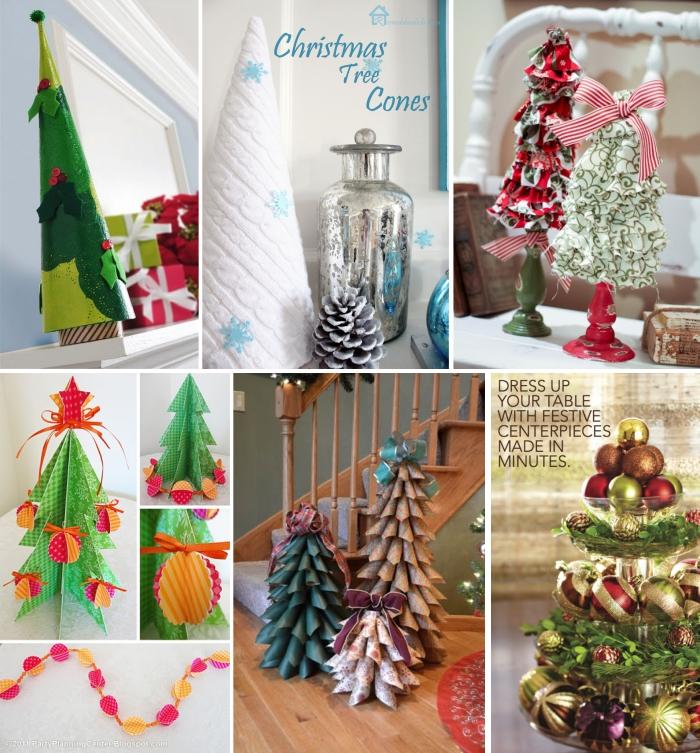 decoracao de arvore de natal simples e barata : decoracao de arvore de natal simples e barata:Decoração de Natal: Várias Sugestões para Seus Ambientes