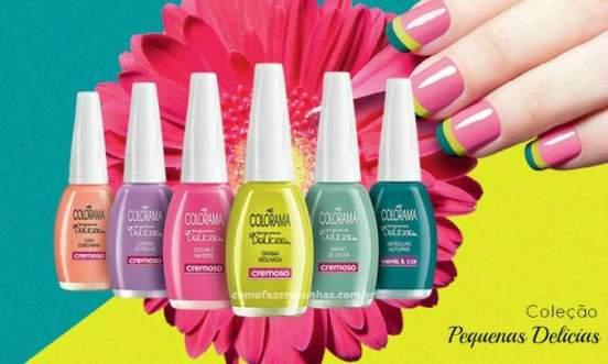 As cores são perfeitas para o verão!
